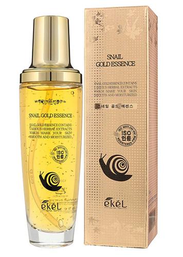 Эссенция с золотом и улиткой  Ekel Gold Snail Essence