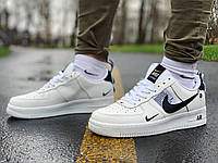 Кросівки натуральна шкіра Nike Air Force Найк Аір Форс (40,41,42,43,44,45), фото 1