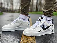 Кросівки натуральна шкіра Nike Air Force Найк Аір Форс (40,41,42,43,44,45)