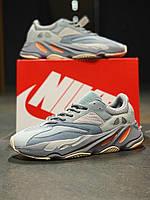 Кросівки натуральна шкіра Adidas Yeezy Boost 700 Адідас Ізі Буст (40,41,42,45), фото 1