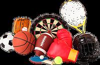 Спортивные товары и инвентарь