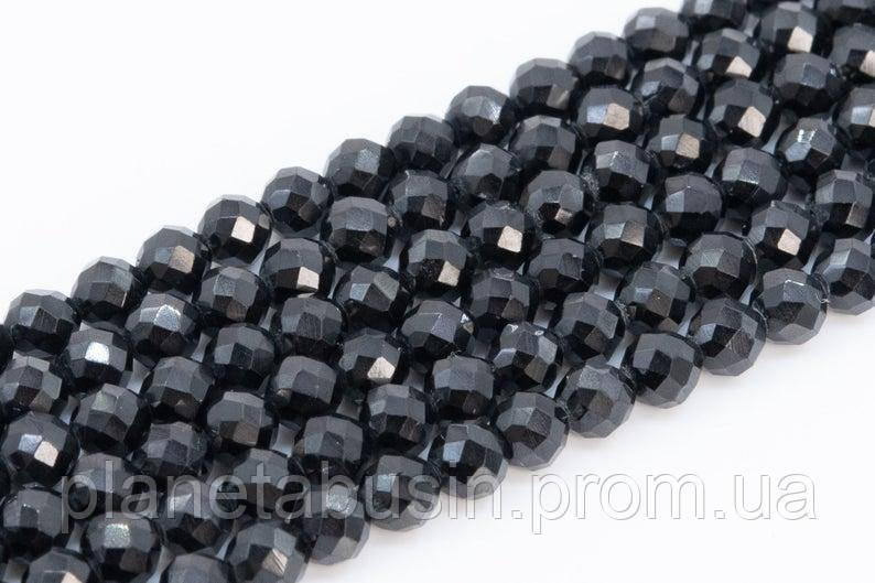 4 мм Шпинель , Натуральный камень, Форма: Граненый Шар, Длина: 40 см