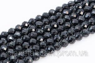 4 мм Шпинель , Натуральный камень, Форма: Граненый Шар, Длина: 40 см, фото 2