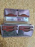 Жіночий гаманець «Мері» з натуральної шкіри, фото 4