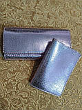 Жіночий гаманець «Мері» з натуральної шкіри, фото 2