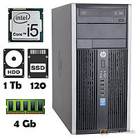 Компьютер HP 6300 (i5-2300/4Gb/1Tb/ssd 120Gb) БУ, фото 1