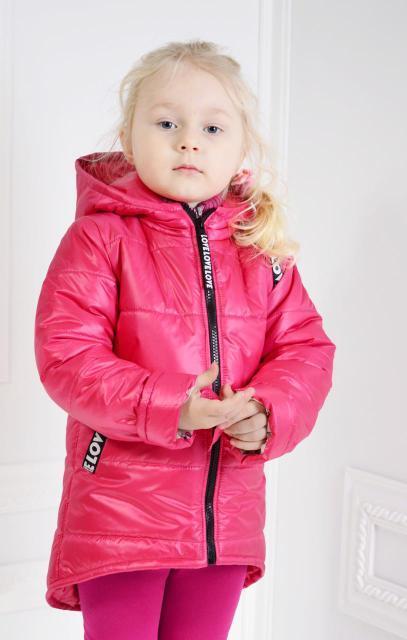 Курточка деми Анжелика на девочку размер 98-116