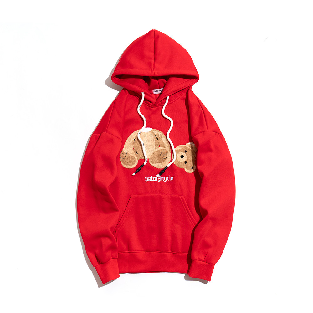 Худи Palm Angels Bear Red