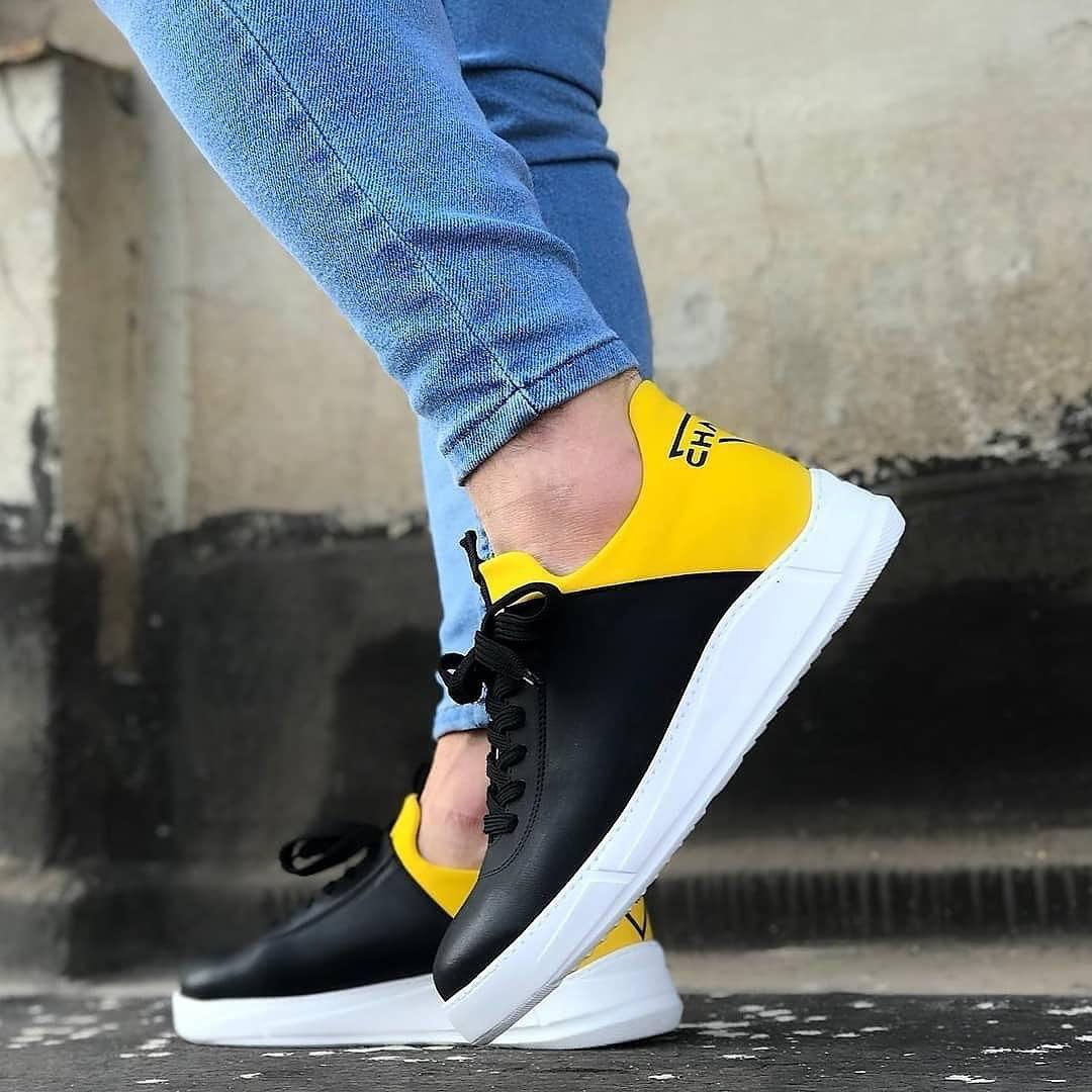 Мужские кроссовки Chambers Ob-08 black/yellow