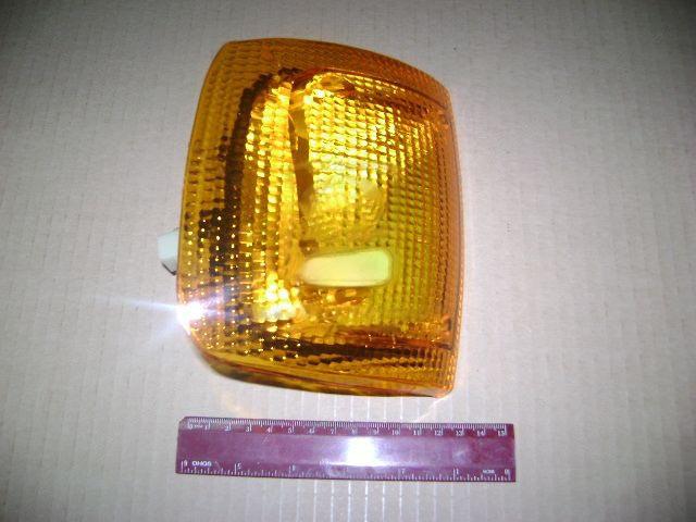 Указатель поворота ГАЗ 3302, -3110 левый (жёлтый) 12В (ОСВАР). 3502.3726000-01