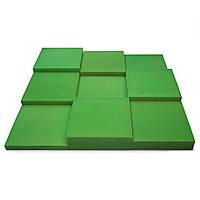 Панель из акустического поролона Ecosound Pattern Velvet 60мм, 60х60см цвет зеленый, фото 1