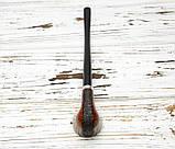 Классическая курительная трубка с длинным мундштуком Churchwarden из бриара, фото 4