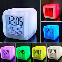Часы ночник хамелеон COLOR CHANGING CLOCK, фото 1