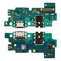 Разъём зарядки для SAMSUNG A505 Galaxy A50 (2019) на плате с микросхемой, микрофоном и компонентами