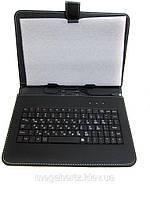 "Чехол клавиатура для ПК планшета 9"" Micro USB"
