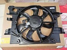 Вентилятор основного радиатора системы охлаждения Renault Duster (Original 214811626R)