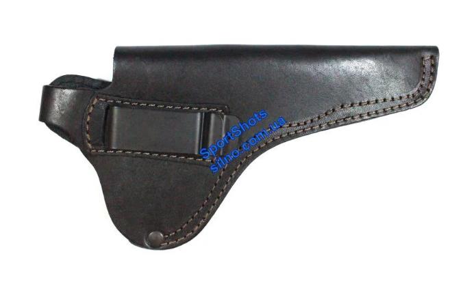 Кобура поясная для револьвера Блеф, МР-313, Гром и сходных конструкцией со скобой