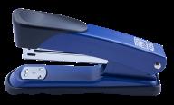 Степлер металлический, 25 л., (скобы №24; 26), 132х60х42 мм, синий, фото 2
