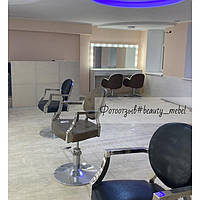 Широкий стол для визажиста с подсветкой, зеркало с подсветкой 2