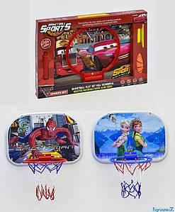 Баскетбольный набор YD 2588 Z/X/Q/S-7 Спайдер Мен