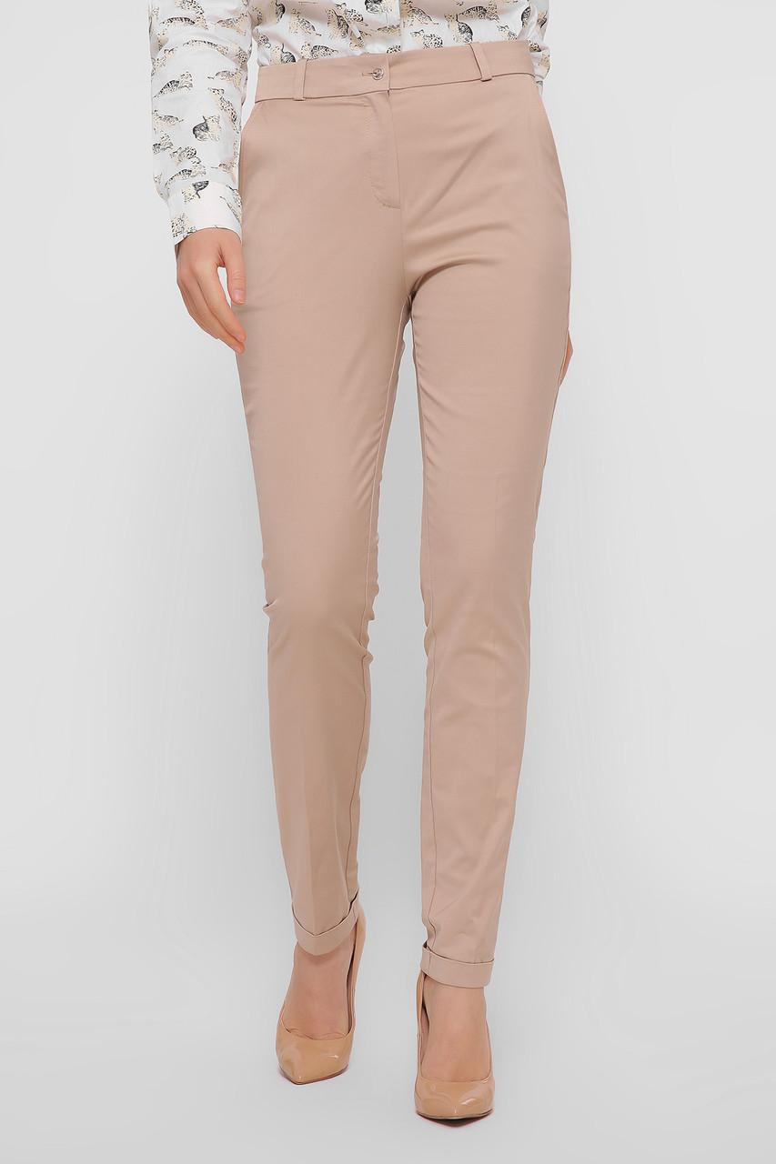 Женские брюки бежевые Астор