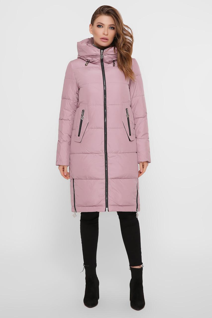 Куртка женская пудра М-109