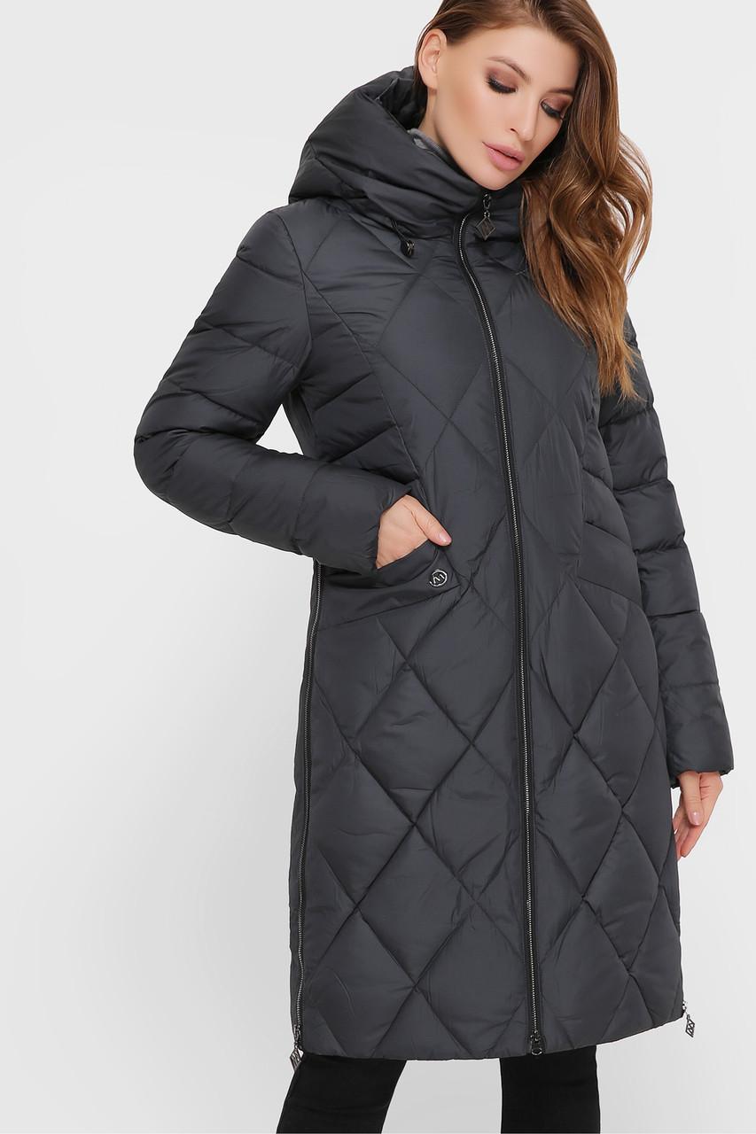 Куртка женская серо-зеленая М-99