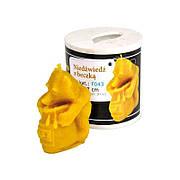 """Форма силіконова   для виготовлення свічок  """"Ведмідь з бочкою меду"""" Польща LYSON"""