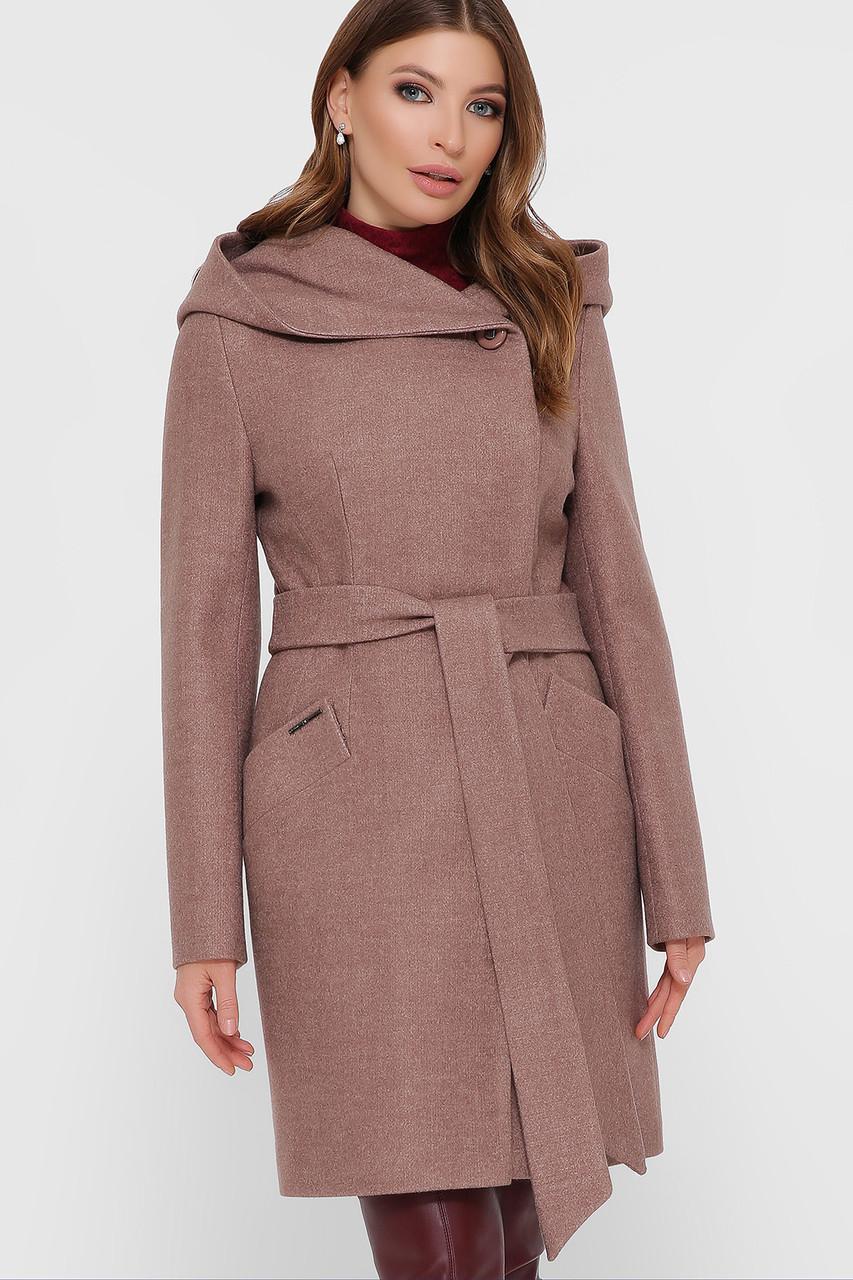 Пальто женское кофе ПМ-95