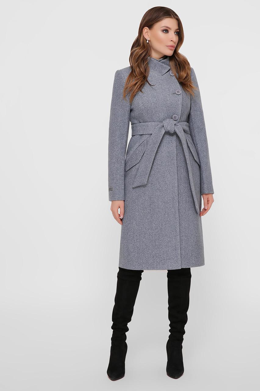 Пальто женское оливковое ПМ-97