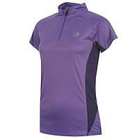 Футболка для бега для женщин Zip Collar., фото 1