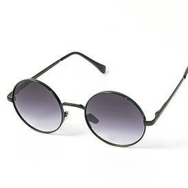 Оптом круглые солнцезащитные очки (арт. 80-668/3) черный
