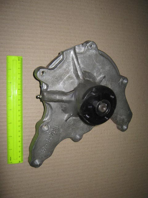 Насос водяной ГАЗ 53 без шкива, алюминиевый корпус (Украина). 511-1307005