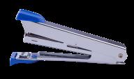 Степлер металлический, 12 л., (скобы №10), 94x42x21 мм, синий