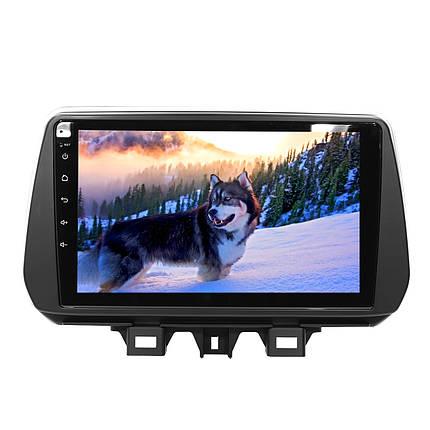 """Штатная магнитола 9"""" Hyundai Tucson (2018-2019) Андроид 4х45 Вт 1+16 Гб GPS Хюндай, фото 2"""