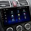 "Штатная магнитола 9"" Subaru Forester (2015-2017 г.) сенсор память 1+16 ГБ Блютуз 4 Android мультимедийная, фото 3"
