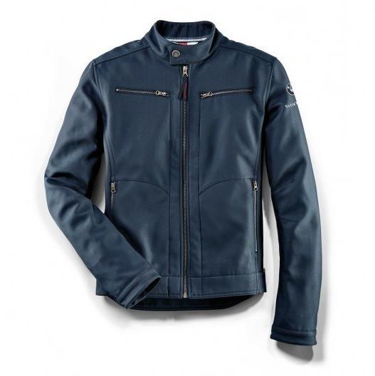 Оригінальна чоловіча куртка BMW Motorrad Softshell Jacket, Logo Vest, Men, Blue, артикул 76898351715