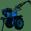 Мотоблок дизельный МД-81Е 8 л.с. эл. старт фреза 1.2м  без плуга