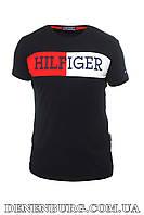 Футболка мужская TOMMY HILFIGER 20-Y-6014 тёмно-синяя, фото 1