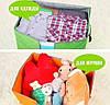 Органайзер кофр для хранения постельного и одежды, фото 9