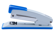 Степлер металлический, JOBMAX, 20 л., (скобы №24; 26), 110х49х32 мм, синий, фото 2