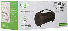 Колонка с Bluetooth Cigii S33D FM,USB, AUX, TWS Battery 1500 mAh мощность 8W, фото 2