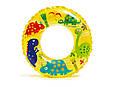 """Надувной круг Intex 59242 NP """"Рыбки"""", 3 вида, диаметром 61 см, от 6-х лет, фото 3"""