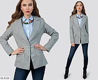 Стильный молодежный пиджак на пуговице арт 5814