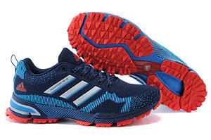 Мужские кроссовки Adidas Marathon TR15 темно-синие