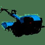 Мотоблок  МД-81 фреза 1.2м ручной старт плуг