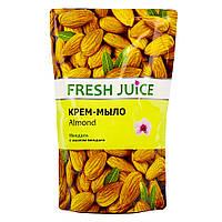 """Fresh Juice Жидкое Крем-мыло """"Миндаль"""" Almond (дой-пак) 460 мл"""