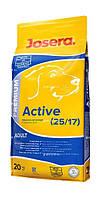 Josera Active. Полноценный корм для активных собак 20 кг