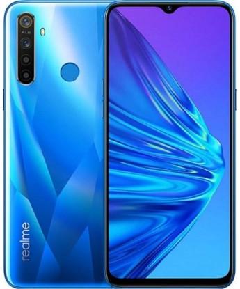 "Смартфон Oppo Realme 5 4/128Gb Blue, 12+8+2+2/13Мп, 2sim, 6.5"" IPS, 5000mAh, 4G (LTE), 8 ядер"