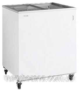 Ларь морозильный со стеклом TEFCOLD IC300SC-P